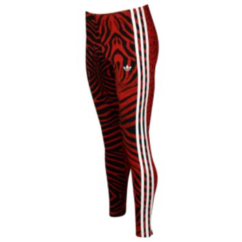 adidas Originals Red Clash Leggings - Women's at Lady Foot Locker