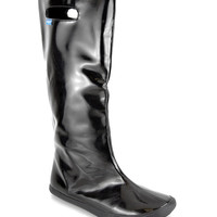 Black Solid Handle This Rain Boot | something special every day