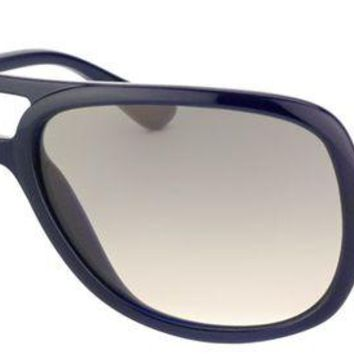 Gotopfashion Ray Ban RB 4162 629/32 Dark Blue / Grey Plastic Aviator Sunglasses NIB RB4162