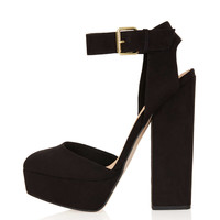 SHELLY Cutout Back Platforms