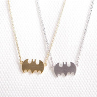 Batman Dainty Necklace - Stainless Steel