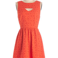 Kensie Mid-length Sleeveless A-line Surprise Brunch Dress