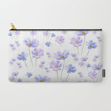 purple cosmos  Carry-All Pouch by Color And Color