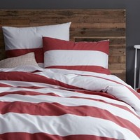 Stripe Duvet Cover + Shams
