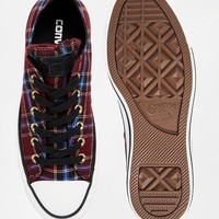 Converse Plaid Chuck Taylor All Star Trainers