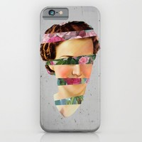 Flower Face iPhone & iPod Case by Cs025