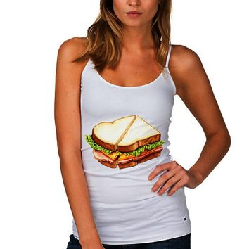 Ham Sandwich Women's Tank Top