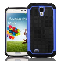 KaysCase TurtleBox Cover Case for Samsung Galaxy S4 SIV S IV Smart Phone (Blue)