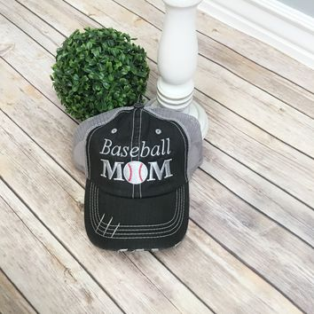 Baseball Mom hat, Women's Trucker cap | Baseball cap