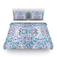 "Kathryn Pledger ""Looking"" Twin Fleece Duvet Cover - Outlet Item"