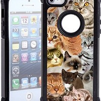 iPhone 5 Case / iPhone 5S Case - The Cat Collage Cats/ Hybrid Unique Case With Great Protection