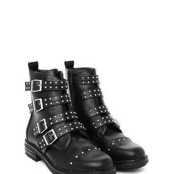 Leader of the Pack Studded Boot