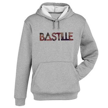 bastille Hoodie Sweatshirt Sweater Shirt Gray and beauty variant color for Unisex size