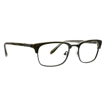 Badgley Mischka - Jensen 55mm Olive Eyeglasses / Demo Lenses