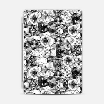 just cats black white (ipad) iPad Air 2 cover by Sharon Turner | Casetify