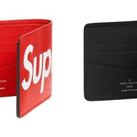 cc spbest Supreme x Louis Vuitton Wallet