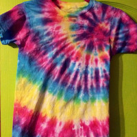 Unisex Tye Dye Shirt For Children and Adults
