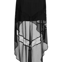 Lace Insert Maxi Skirt - Skirts - Clothing - Topshop USA