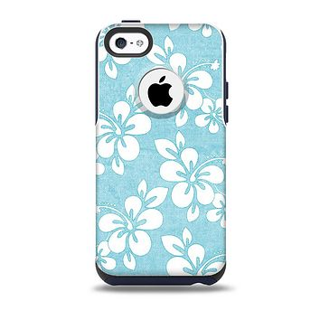 The Vintage Hawaiian Floral Skin for the iPhone 5c OtterBox Commuter Case