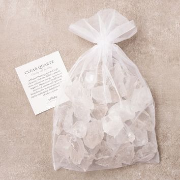 Clear Quartz Crystal Healing Bath Stones