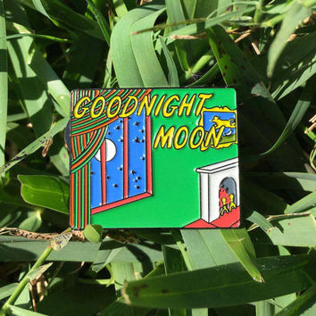 Goodnight Moon Enamel Pin (Children's Book, Goodnight Moon)