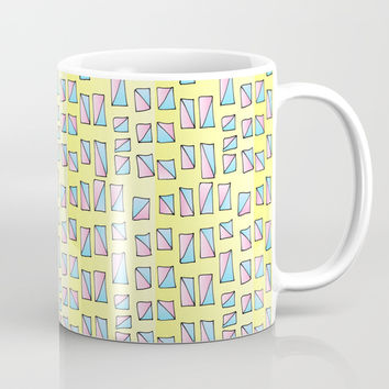 rectangle and abstraction-mutlicolor,abstraction,abstract,fun,rectangle,square,rectangled,geometric, Coffee Mug by oldking