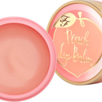 Moisturizing Peach Lip Balm – Too Faced