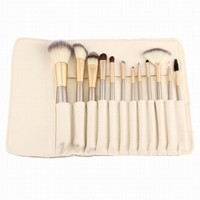Postma Beige Make-up Brush Champagne  Color Brush Make-up Brush Set [20536721420]