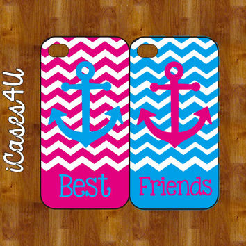 BFF iPhone cases - Personalized iPhone case - iPhone 4s case - iPhone 5 case - plastic or rubber - Anchor iPhone case