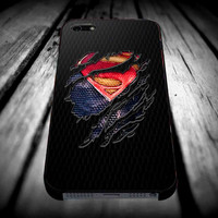 Clark kent Ripped Torn cloth for iPhone 4/4s/5/5s/5c/6/6 Plus Case, Samsung Galaxy S3/S4/S5/Note 3/4 Case, iPod 4/5 Case, HtC One M7 M8 and Nexus Case ***