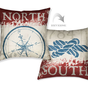 Nautical I Indoor Decorative Pillow