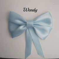 Wendy Darling Hair Bow by littlebowchicdesigns on Etsy