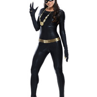 Catwoman Long Sleeve Costume Set