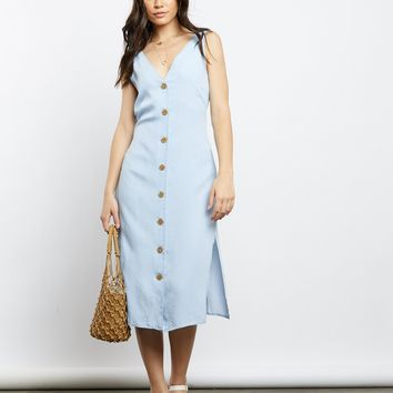 Peyton Button Down Midi Dress