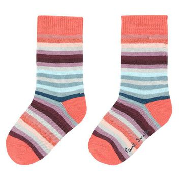 ONETOW Paul Smith Boys Striped Socks