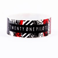 Blurryface Wristband Bracelet | Official Twenty One Pilots Store