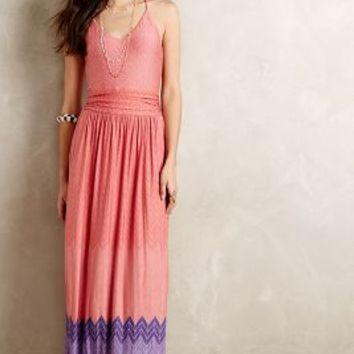 Sunfall Maxi Dress by Nomad by Morgan Carper Purple Motif