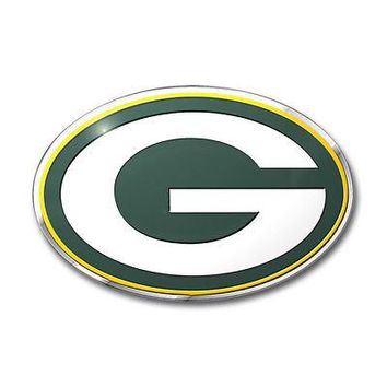 Licensed Official NFL Green Bay Packers Premium Vinyl Decal / Sticker / Emblem - Pick Your Pack