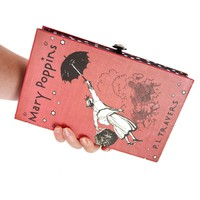 Mary Poppins Book Clutch