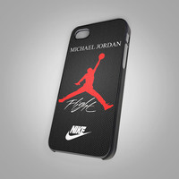 Nike Air Jordan   Flight KC New 003 - Design on Hard Cover - iPhone 4 / 4S Case, iPhone 5 Case