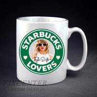 Taylor Swift Starbucks Lovers  Personalized mug/cup