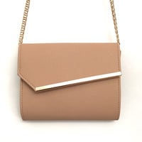 To The Side Handbag - Beige