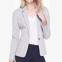 Marled Knit Blazer from EXPRESS