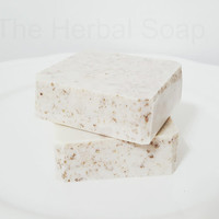 Rhassoul clay face soap/For every day use face soap/All skin type face soap