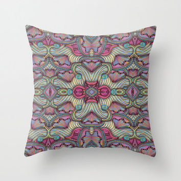 Gates of the Nereids Indoor and Outdoor Throw Pillows