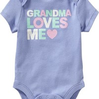 Old Navy Family Love Bodysuits For Baby