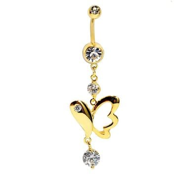 Titanium Diamonds Accessory Belly Ring [6768822727]