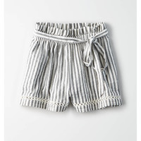 AE Paperbag Short, White