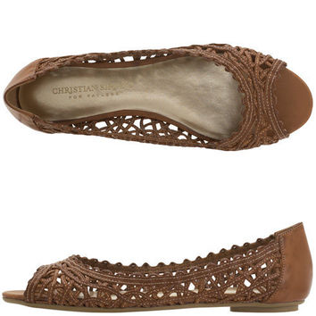 Womens - Christian Siriano for Payless  - Women's Cindy Woven Flat - Payless Shoes