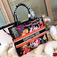 "Hot Sale ""Christian Dior"" High Quality Popular Women Leather Handbag Tote Shoulder Bag"